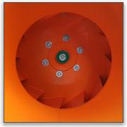 Воздухозаборный патрубок радиального вентилятора ВР 86-77 (Nevatom)
