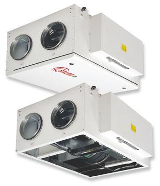 Приточно-вытяжные установки с роторным рекуператором тепла RIRS 350P EKO 3.0