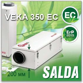 Компактная приточная установка VEKA 350 EC